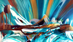 Rocky Mountain Reflection – sold